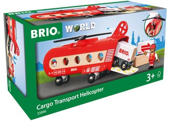 BRIO - Vehicle Cargo Transport Helicopter, 8p BRI33886