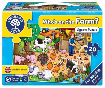 Orchard Jigsaw - Who's On The Farm? OC217