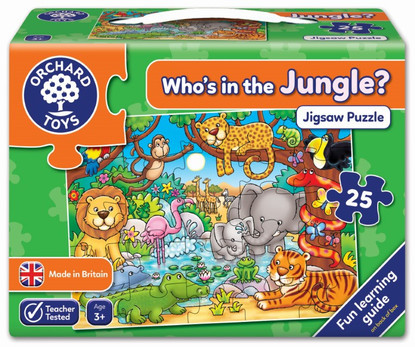 Orchard Jigsaw - Who's In The Jungle? OC216