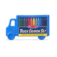 Melissa & Doug - Truck Crayon Set Blue pack