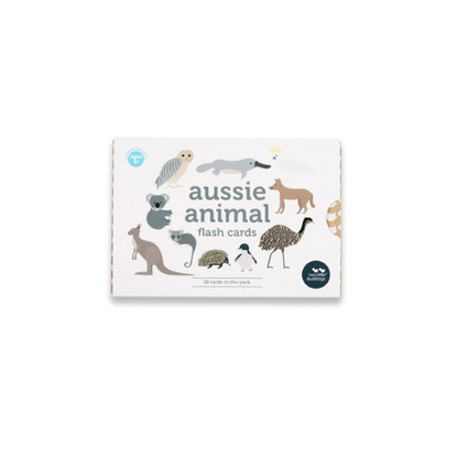 ussie animal flash cards (boxed) - Two Little Ducklings