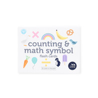 Counting and math symbols flash cards (boxed) - Two Little Ducklings
