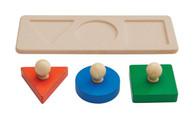 Plan Toys - Shape Matching Puzzle PT5390