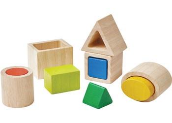 PlanToys - Geo Matching Boxes