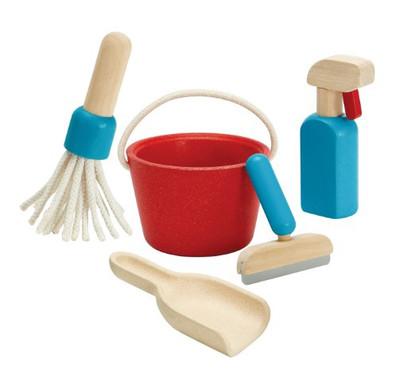 PlanToys - Cleaning Set PT3498