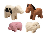 PlanToys - Farm Animals Set PT6127