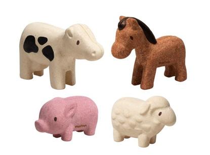 PlanToys - Farm Animals Set PT6127