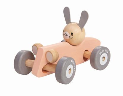PlanToys - Bunny Racing Car PT5717