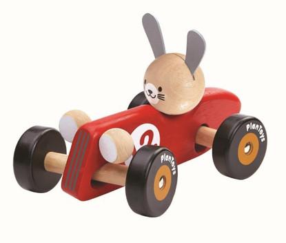 PlanToys - Rabbit Racing Car PT5704