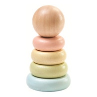 PlanToys - First Stacking Ring - Pastel PT5380