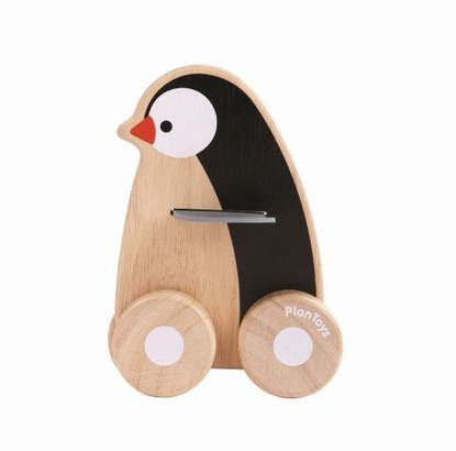 PlanToys - Penguin Wheelie PT5444