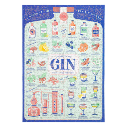 Gin Lovers Jigsaw Puzzle 500 pieces