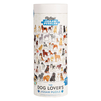 Dog Lovers 1000 pc Jigsaw Puzzle - Ridleys