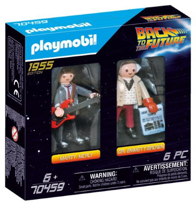 Playmobil - Back to the Future Marty Mcfly and Dr. Emmett Brown PMB70459