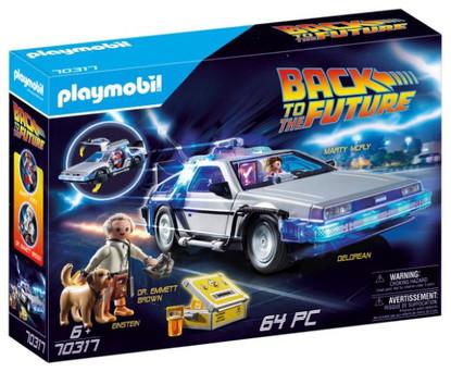 Playmobil - Back to the Future DeLorean PMB70317