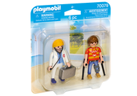 Playmobil - Doctor and Patient PMB70079