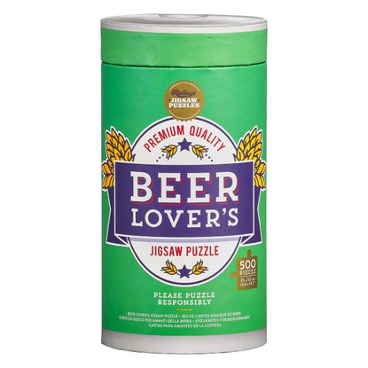 Beer Lover Jigsaw Puzzle 500pcs - Ridley's
