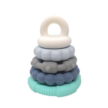 Rainbow Stacking toy OCEAN - Jellystone Designs