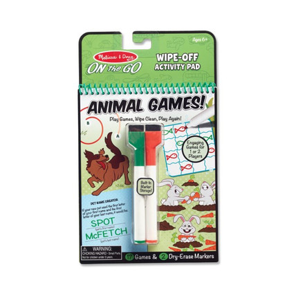 Melissa & Doug - On The Go - Animal Games MND30171