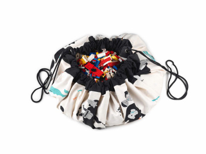 Play&Go - Toy Storage Bag- World Map PNG509