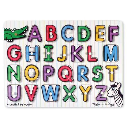 Melissa & Doug - See-Inside Alphabet Peg Puzzle MND3272