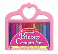 Melissa & Doug - Princess Crayon set MND4155