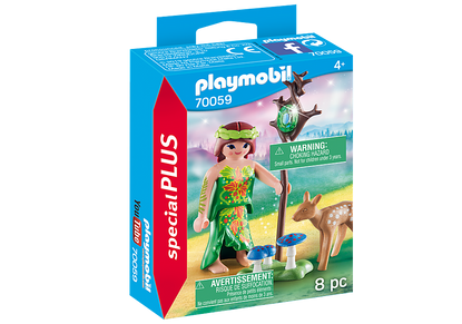 Playmobil - Fairy with Deer - Special Plus PMB70059