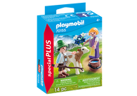 Playmobil - Children with Calf - Special Plus PMB70155