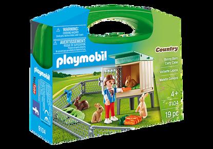 Playmobil - Bunny Barn Carry Case PMB9104