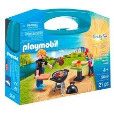 Playmobil - Backyard Barbecue Carry Case PMB5649