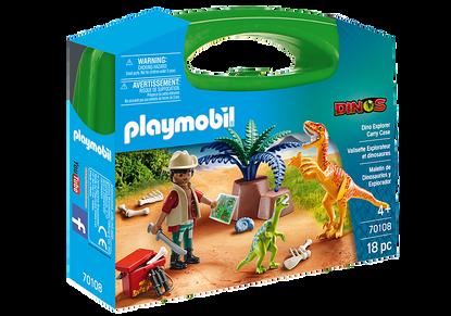 Playmobil - Dino explorer Carry Case PMB70108