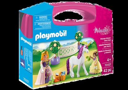 Playmobil - Princess with Unicorn Carry Case PMB70107