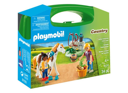 Playmobil - Horse Grooming Carry Case PMB9100