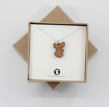 Dinky Koala Necklace - Buttonworks