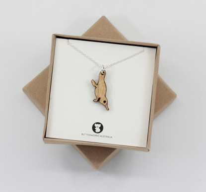 Dinky Platypus Necklace - Buttonworks