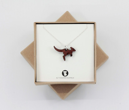 Dinky Roo Necklace - Buttonworks Gift Boxed