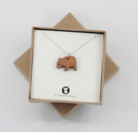 Dinky Wombat Necklace - Buttonworks