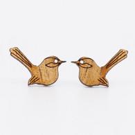 Fairy Wren Stud Earrings - Buttonworks