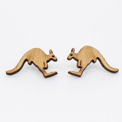 Kangaroo Stud Earrings - Buttonworks