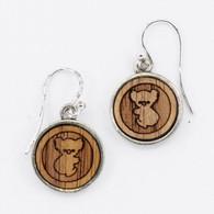 Koala Charm Drop Earrings - Buttonworks
