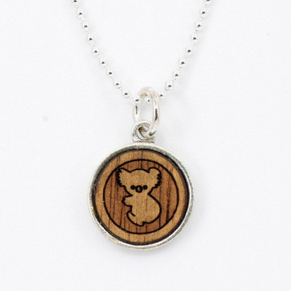 Koala Charm Necklace - Buttonworks