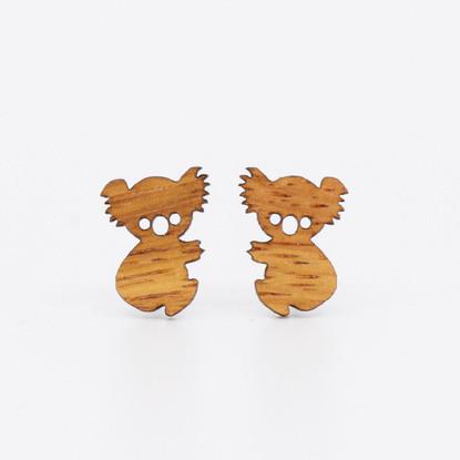 Koala Stud Earrings - Buttonworks