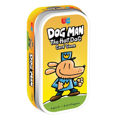Dog Man – The Hot Dog Tin