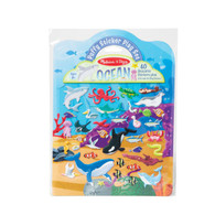 Melissa & Doug - Reusable Puffy Sticker Play Set- Ocean MND30520