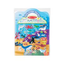 Melissa & Doug - Reusable Puffy Sticker Play Set- Ocean MND30520