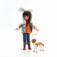Lottie - Walk in the Park Doll and Dog