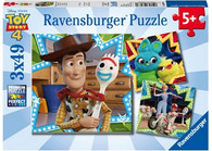 Ravensburger - Disney Toy Story 4 Puzzle 3x49pc RB08067-0