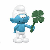 Schleich - Smurf with Clover Leaf SC20797