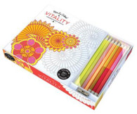 Vive le Color! Vitality (Coloring Book and Pencils)