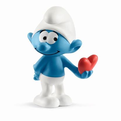Schleich - Smurf with heart SC20817